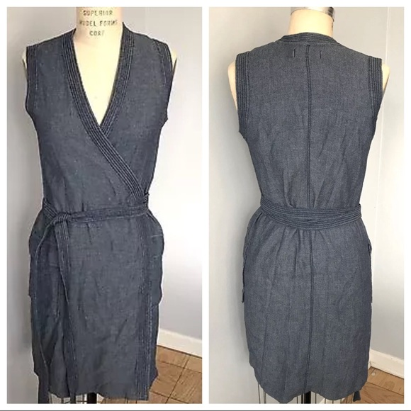 88d425c434 Madewell Dresses   Skirts - Madewell 100% Cotton Wrap Dress
